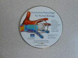 ~~INTERACTIVE PHYSIOLOGY FOR HUMAN BIOLOGY CD-ROM~~