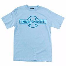 Independent Trucks Custom Ogbc Skateboard Shirt Powder Blue Medium