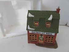 Dept 56 59269 White Horse Bakery Building No Cord/No Sleeve D9