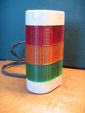 NIB PATLITE WM-302 EN WALL MOUNT SIGNAL RED YELLOW GREEN LIGHT TOWER 24V AC//DC