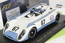 FLY C43 PORSCHE 908 FLUNDER LE MANS 69' NEW 1/32 SLOT CAR IN DISPLAY CASE *RARE*