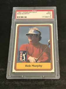 1981 Donruss Golf Bob Murphy PSA 9 MINT Set Break
