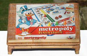 Jeu de société Métropoly Disneyland Educa vintage