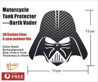 Darth Vader Tank Pad Protector Motorcycle Sticker 3D Caroon Fiber Gas Fuel Oil