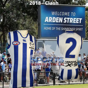 2018 North Melbourne Kangaroos AFL CLASH Player Issue Guernsey
