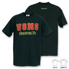 US MARINES CORPS SEMPER FI USMC Army Marine Military tshirt shirt black