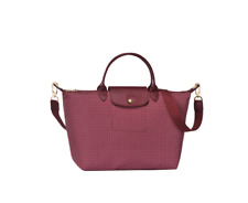 Authentic Longchamp Le Pliage Collection Dandy Top Handle Medium Bag- Fig