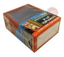 """Ultra Pro 3"""" x 4""""  Top Loader with Red Border for Trading Cards NEW 25 per pack"""