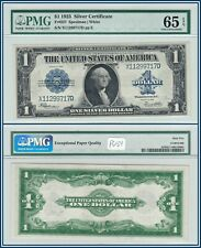 1923 $1 Silver Certificate PMG 65 EPQ Gem Unc One Dollar Large-size Note