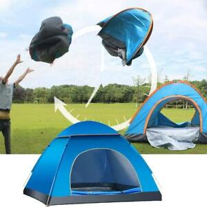 2 Person Automatic Up Outdoor Family Camping Tent Easy Open Camping Tents A+