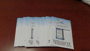 100 BridgeAid Dental Floss Threaders in 10 Convenient Packs of 10 Free Shipping