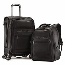 "Samsonite Prowler GT 2pc Travel 21"" Carry on Luggage & Backpack Bags Suitcase"