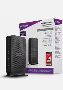 Netgear C3700 WiFi Cable Modem Router READ (S)
