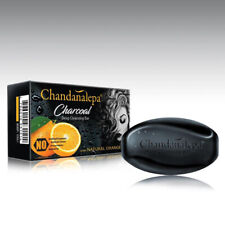 Chandanalepa Coconut Charcoal Deep Cleansing Soap Acne Ayurvedic Natural 100g*4