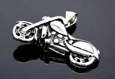EDELSTAHL *** Anhänger Motorrad 43 mm