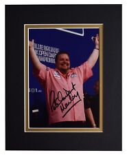Peter Manley Signed Autograph 10x8 photo display Darts Sport AFTAL COA