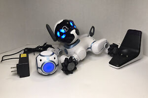 WowWee CHiP Robot Toy Dog with Charger and Ball (READ DESCRIPTION)