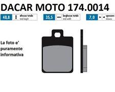 174.0014 PLAQUETTE DE FREIN POUR RACE POLINI GILERA RUNNER 125 FX