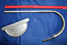 INEFA Rinnenhalter NW 83 Regenrinne, Braun kastenförmig Stahl verzinkt