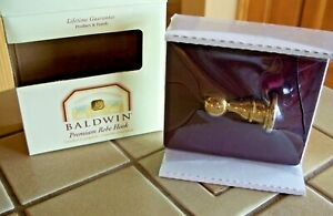 BALDWIN BRASS PREMIUM ROBE HOOK EDGEWATER SEACREST 3505-030 NEW IN BOX