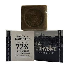 """LOT DE 2 SAVONS DE MARSEILLE 72 % PUR VEGETAL  100g """"LA CORVETTE"""" - Bien être"""