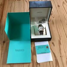 Tiffany & Co. Atlas Men's Automatic Winding Roman Numerals White Dial Watch