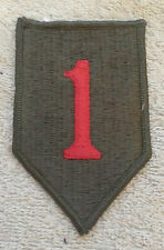US ARMY PATCH 1st Infantry Division Badge/Insignia/Emblem American Big Red One