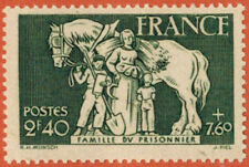 1943 - TIMBRE FRANCE NEUF** FAMILLE DU PRISONNIER - STAMP - Yv.586