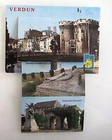 Postkarte Leporello-Auszieh-Bildern Verdun Meuse Frankreich France Carte Postale