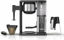 Ninja Specialty Fold-Away Frother 10-Cup Coffee Maker with Glass Carafe