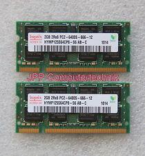 4 GB 2 x 2 GB Speicher RAM Apple MacBook 5.2 5,2 2009 P7350 64 Bit DDR2 800 Mhz