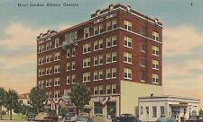 Hotel Gordon in Albany GA Postcard