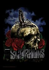 Scorpions Skull large textile poster 1100mm x 700mm  (hr)