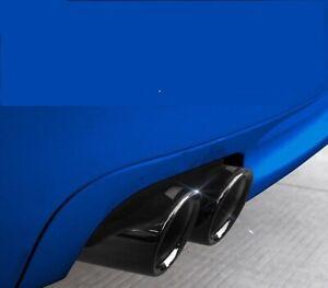 BMW M performance Exhaust Muffler Pipe Tip BMW F10 F18 F30 TITANIUM BLACK 1pcs
