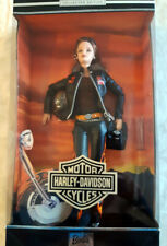 VINTAGE 2000 HARLEY DAVIDSON BARBIE COLLECTIBLES IN BOX
