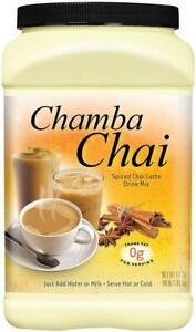 Chamba Chai Spiced Latte Drink Mix, 64 Ounces