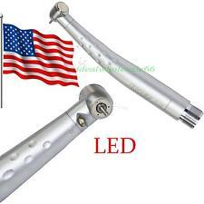 Dental High Speed SELF-POWER E-generator LED Handpiece push standard head 2 Hole