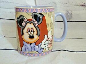Disney Minnie Mouse Ceramic Coffee Mug Mornings Aren't Pretty 30 oz Large