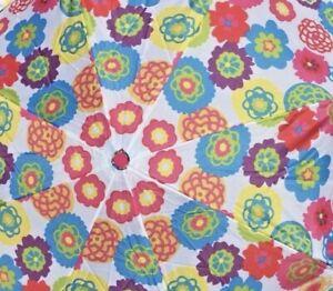 New/Sealed Avon Cynthia Rowley Discontinued Fun Floral Umbrella w/Cover