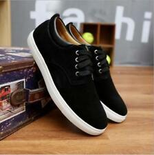 New Men's leather casual fashion sneakers lace casual shoes US 10.5
