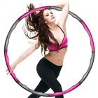 Hula Hoop Reifen - Fitness Erwachsene Hoopdance Bauchtrainer - 8 Teile; 1,2kg <br/> ⭐⭐⭐⭐⭐#1 BESTSELLER✔️DEUTSCHER ANBIETER✔️24h DHL VERSAND