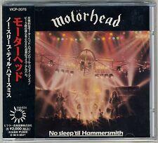 Motorhead -  No Sleep 'til Hammersmith CD 1993 JAPAN PRESS Motörhead Lemmy
