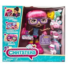 Chatsters Gabby Interactive Talking Chat Doll w Accessories Fashion Animated Toy