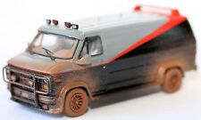 Diecast Cars Model 1983 GMC VANDURA CARGO VAN A-TEAM SERIES VAN CAR 1:43 car