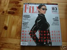 Carrie-Anne Moss front cover, Polish mag FILM 2003