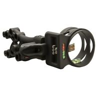TruGlo Bow Sight Fiber Optic Carbon XS Xtreme 5-Pin .019 Black - TG5805B