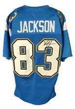 Vincent Jackson Autographed Pro Style Blue Jersey JSA Authenticated
