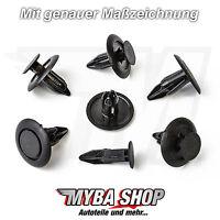 10x Befestigung Clips in Schwarz für Honda Toyota Mazda | B46768AC3