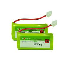 2PC New Cordless Phone Battery NiMH AAA 800mAh 2.4V for VTech BT284342 BT184342