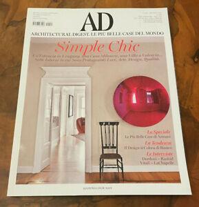 AD n. 409 giugno 2015 Simple chic Le più belle case di Armani Design bianco
